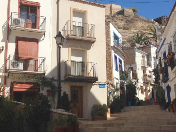 Alicante, Spain, The Old City