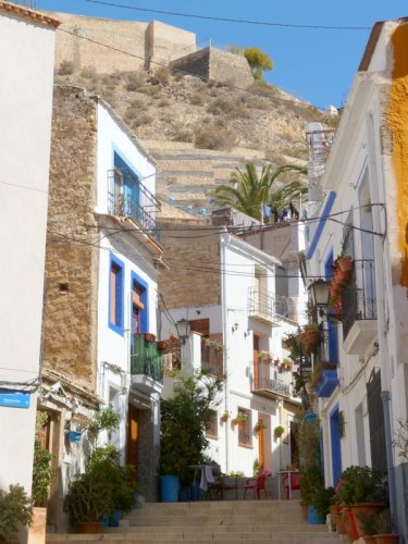 Alicante, Spain, Way to the castle