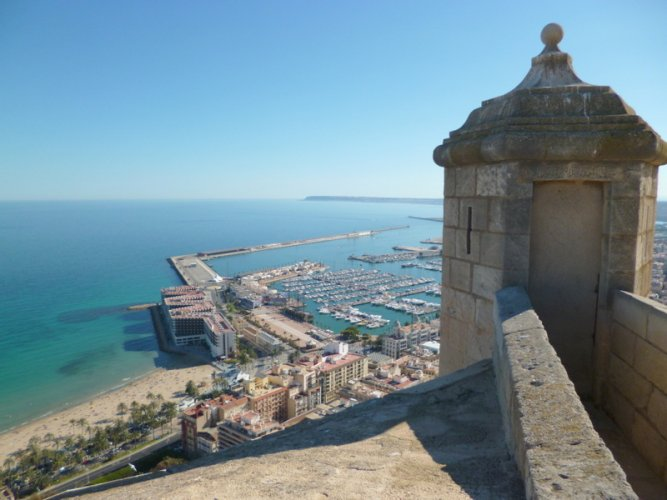 Alicante,Spain,Sta,Barbara's castle