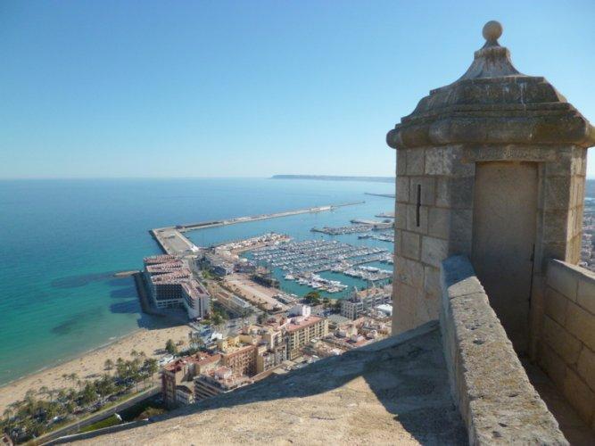 Alicante,Spain,Sta,Barbara's castle