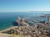 Alicante,Spain,view from the castle