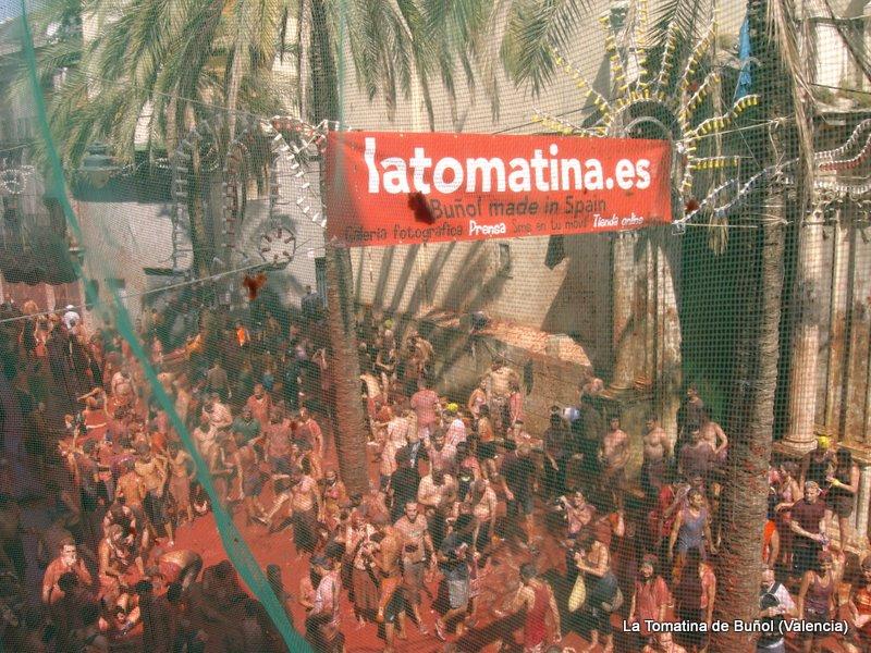 Tomatina de Buñol (Valencia)