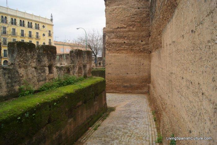 Basilica de la Macarena and its wall