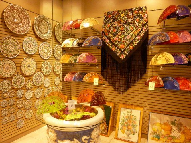 Sevilla, typical shop