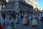 Falleras, The woman, the real protagonist of the Fallas Festival