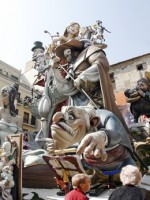 Las Fallas, Valencia, Spain